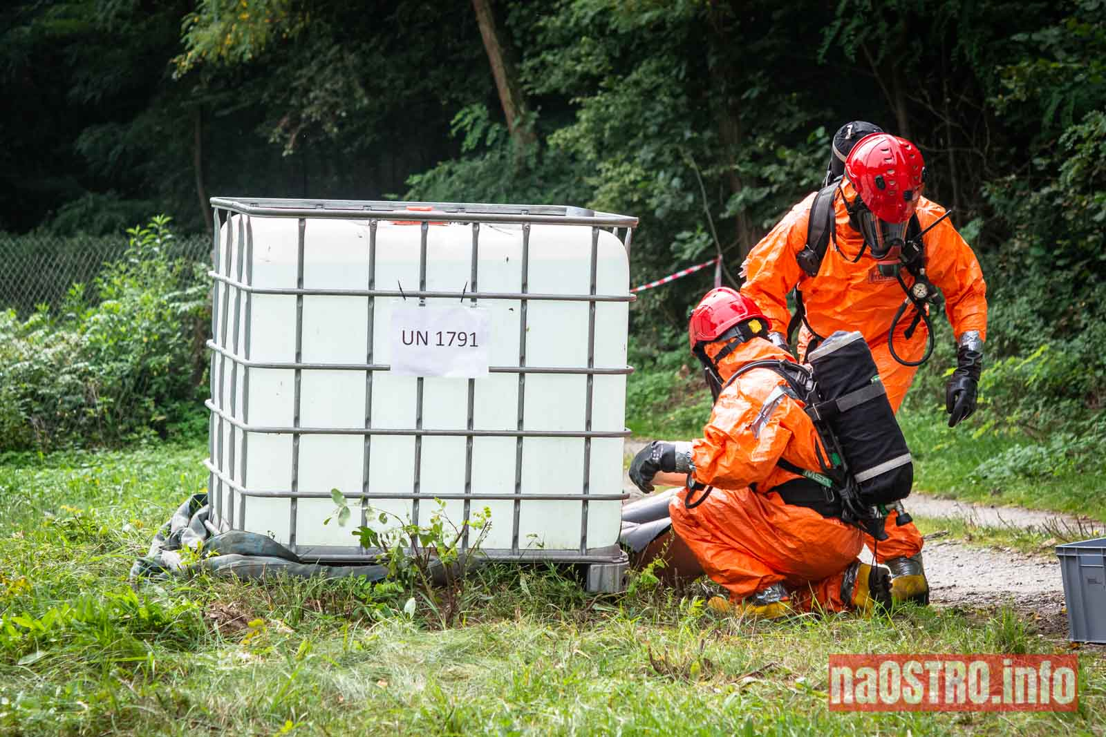 NaOSTROinfo Ćwiczenia Straży Pożarnej-58