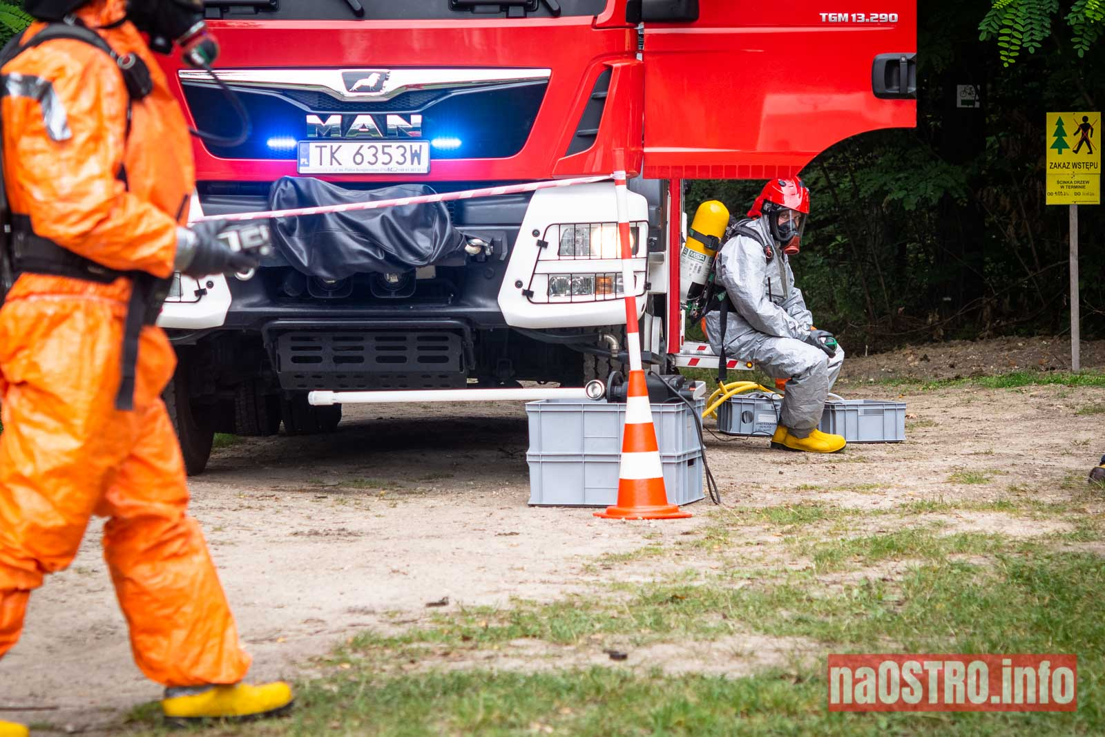 NaOSTROinfo Ćwiczenia Straży Pożarnej-60