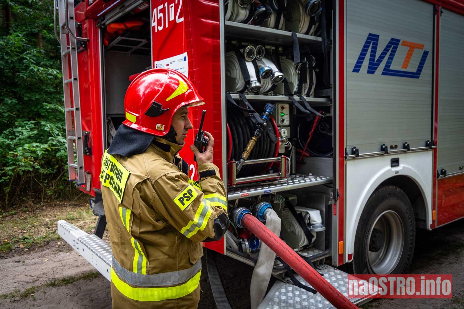 NaOSTROinfo Ćwiczenia Straży Pożarnej-9