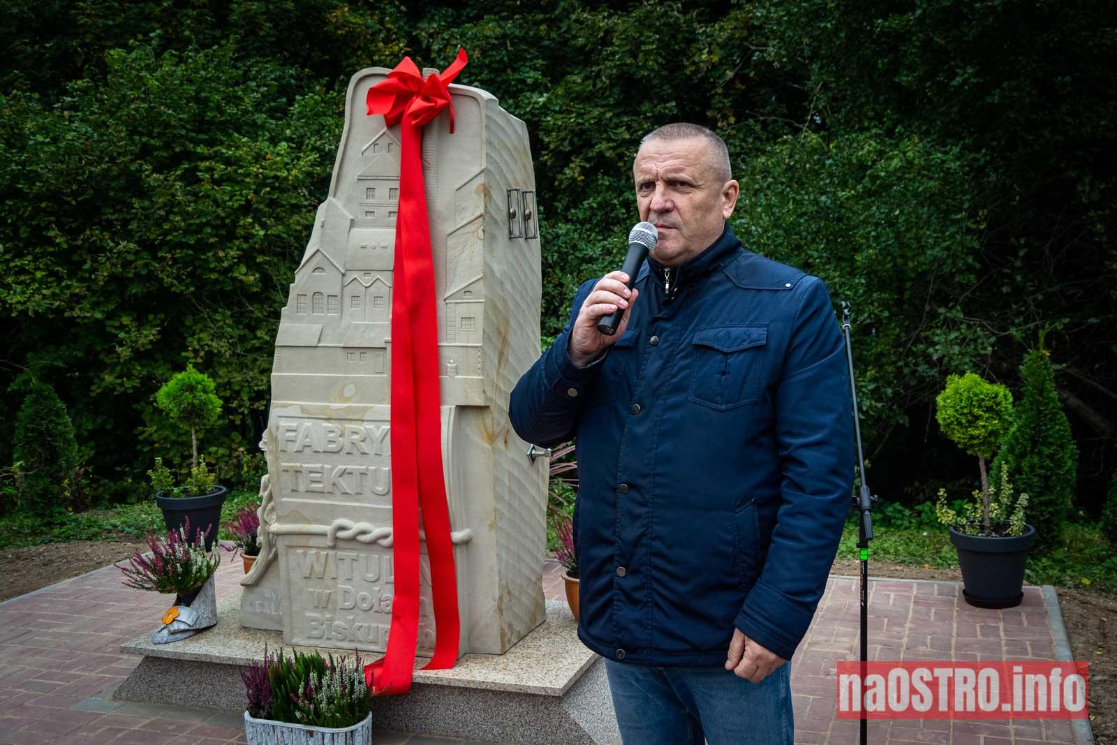 NaOSTROinfo Fabryka Tektury Witulin rzeźba odsłonięcie-18