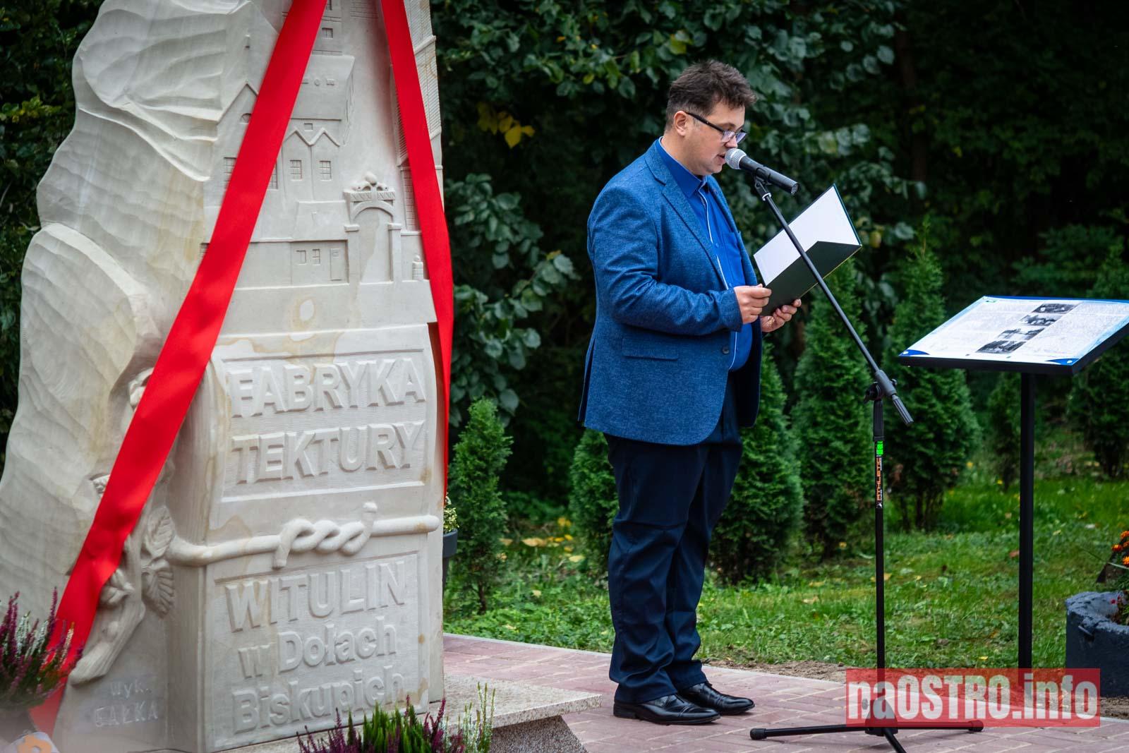 NaOSTROinfo Fabryka Tektury Witulin rzeźba odsłonięcie-5